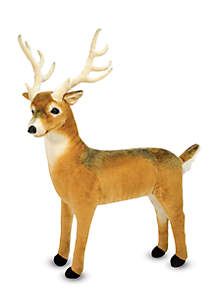 N MD PLUSH DEER  Plush Deer - Online Only