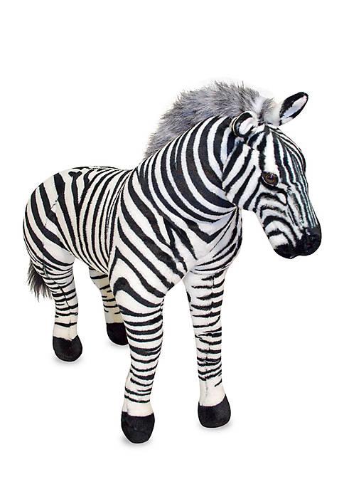 Plush Zebra