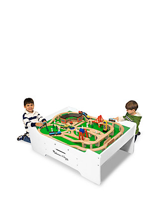 Deluxe Wooden Multi Activity Play Table