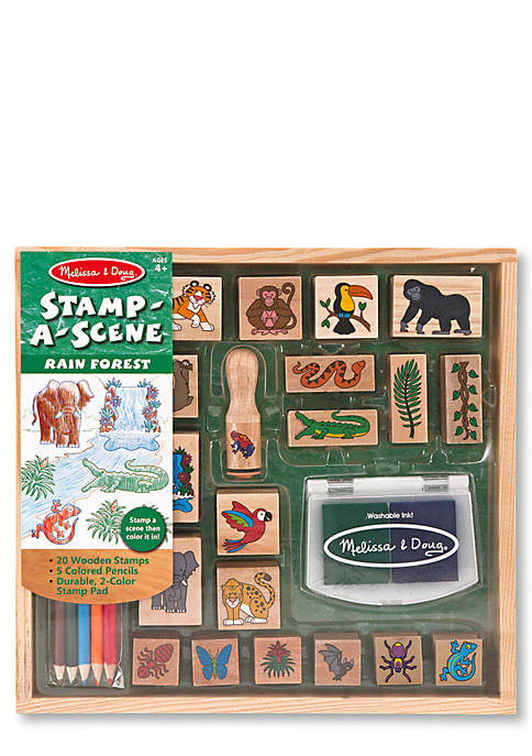 Stamp-a-Scene-Rain Forest - Online Only