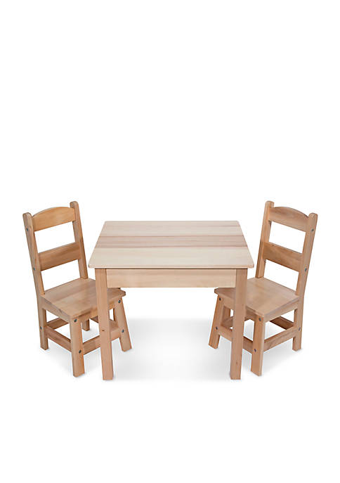 Wooden Table and Chairs - Online Only