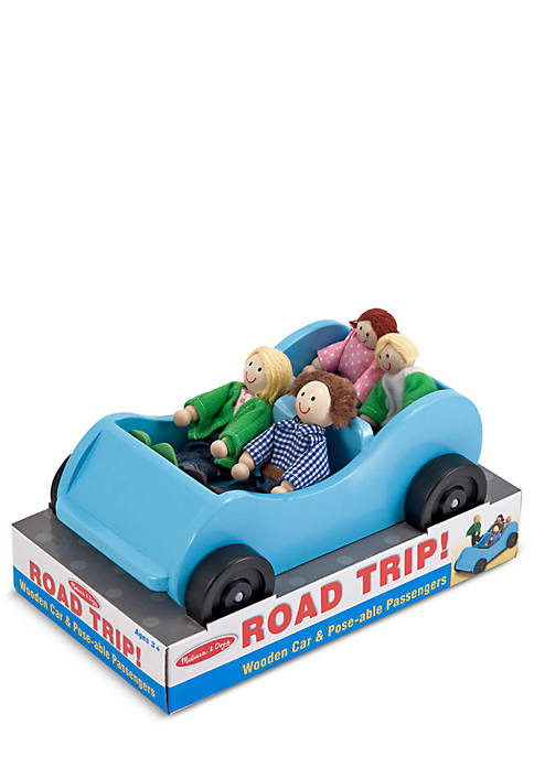Melissa & Doug® Road Trip Wooden Car and