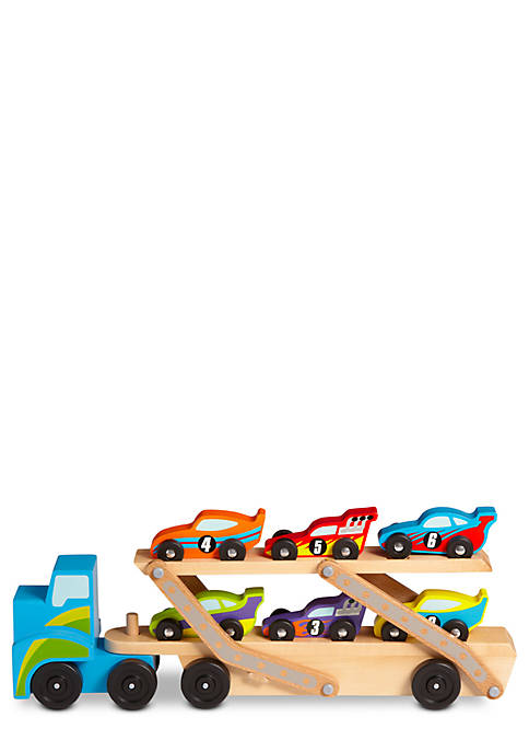 Melissa & Doug® Jumbo Race Car Carrier