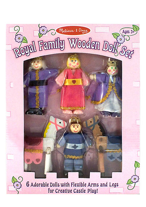Royal Family Wooden Doll Set - Online Only