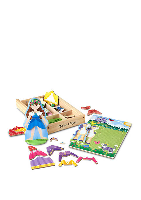 Melissa & Doug® Princess Magnetic Dress Up Play