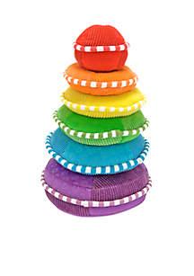 Rainbow Stacker Plush Toy