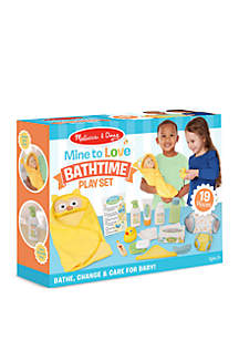Melissa & Doug® 19-Piece Mine to Love Bath Time Play Set