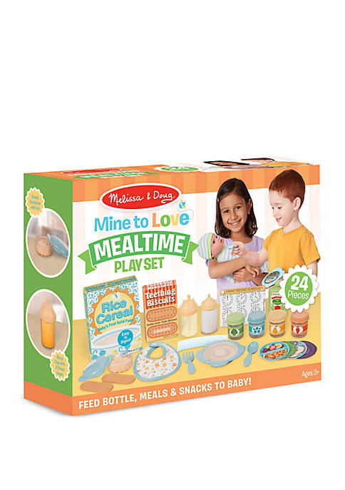 24-Piece Mine to Love Mealtime Play Set