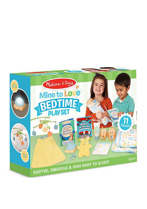 11-Piece Mine to Love Bedtime Play Set