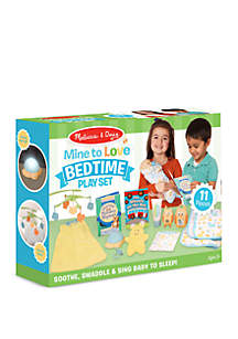 Melissa & Doug® 11-Piece Mine to Love Bedtime Play Set