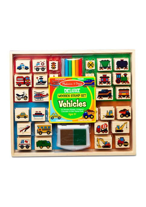 Melissa & Doug® Deluxe Wooden Stamp Set