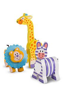 Melissa & Doug® Safari Grasping Toys