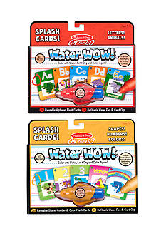 Melissa & Doug® Water Wow Splash Cards Bundle