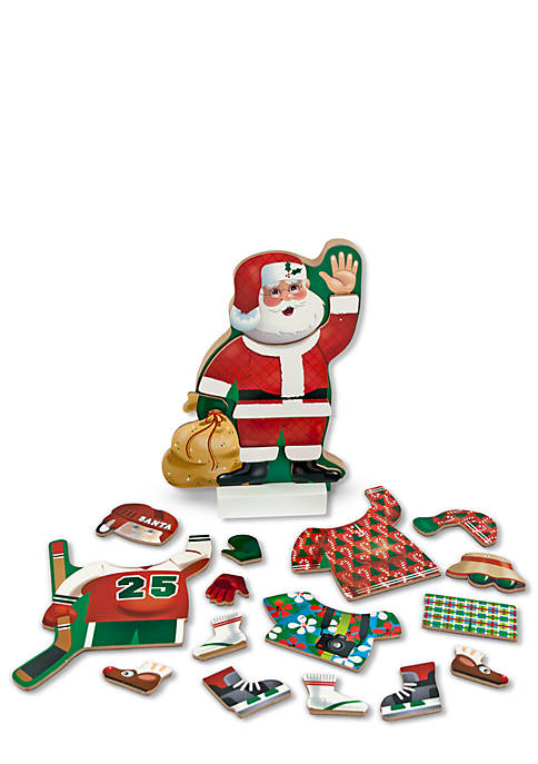 Melissa & Doug® Dress-Up Magnetic Santa
