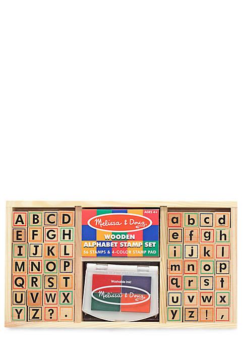 Alphabet Stamp Set - Online Only
