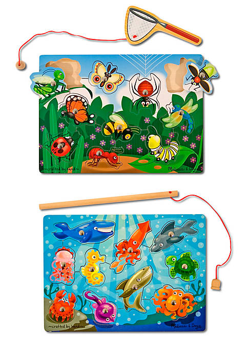 Fishing & Bug Catching Magnetic Game Bundle - Online Only