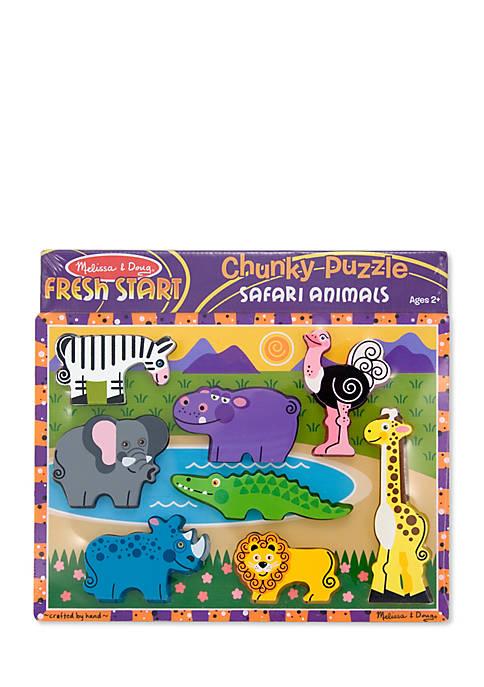 Melissa & Doug® Safari Chunky Puzzle