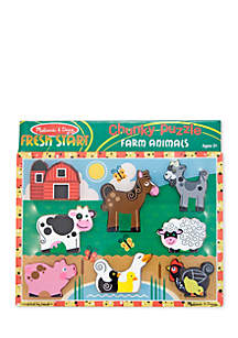 Farm Chunky Puzzle-Online Only
