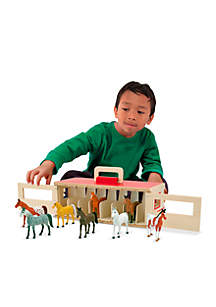 Melissa & Doug® Show-Horse Stable - Online Only