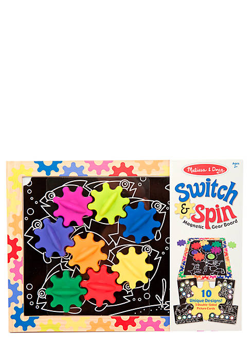 Switch & Spin Magnetic Gear Board - Online Only