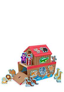 Melissa & Doug® Chunky Animals & Wooden Ark