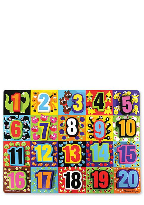 Melissa & Doug® Jumbo Numbers Chunky Puzzle