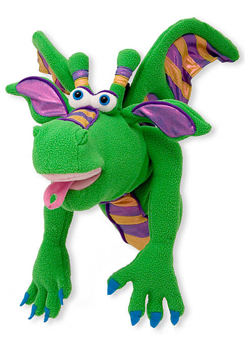 Smoulder the Dragon Puppet - Online Only