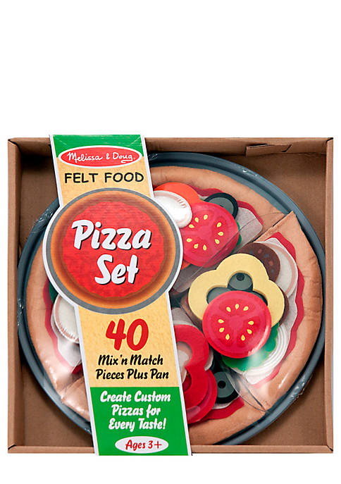 Felt Food Pizza Set - Online Only