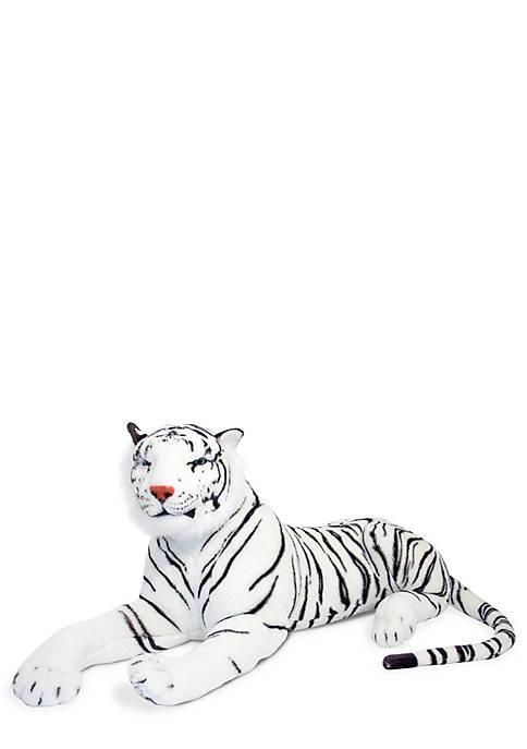 Plush White Tiger