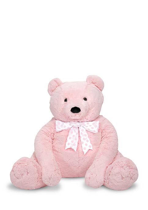 Melissa & Doug® Pink Jumbo Teddy Bear