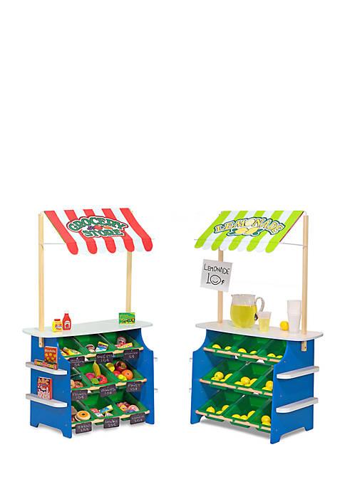 Melissa & Doug® Grocery Store/ Lemonade Stand