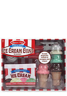 Melissa & Doug® Scoop & Stack Ice Cream Cone Playset - Online Only
