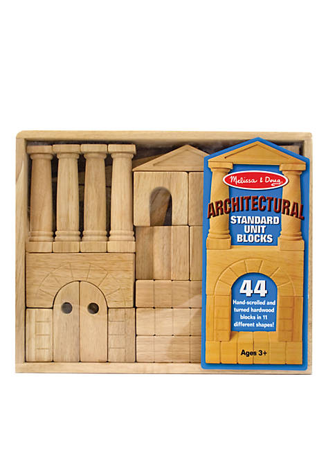 Melissa & Doug® Architectural Standard Unit Blocks