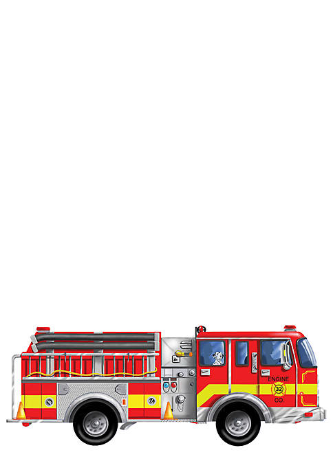 Melissa & Doug® Giant Fire Truck 24-Piece Floor