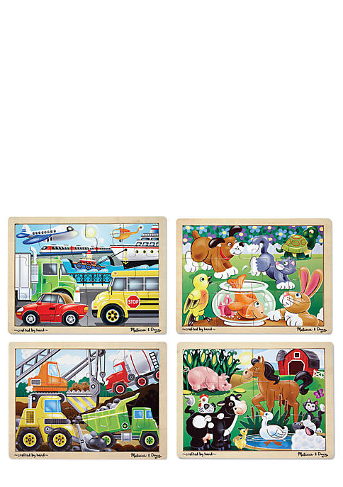 Melissa & Doug® Jigsaw Puzzle Bundle Set of
