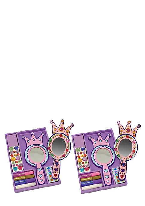 Melissa & Doug® Decorate Your Own Princess Mirror