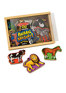 Magnetic Wooden Animals - Online Only