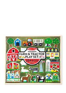 Wooden Farm 'n' Tractor Play