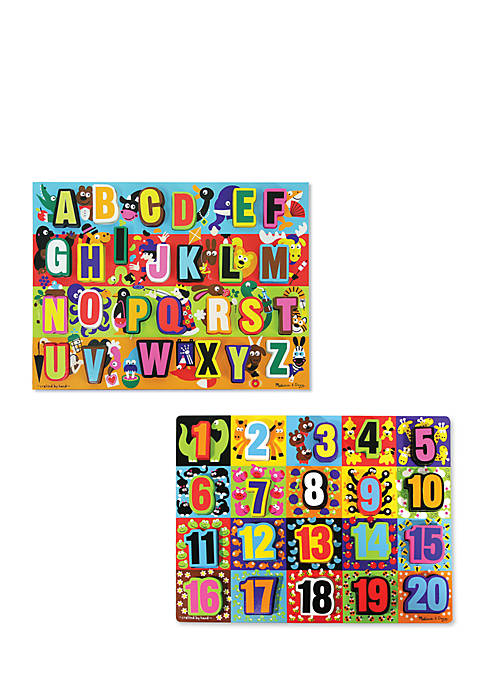 Melissa & Doug® Large Chunky Puzzle Set