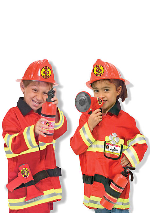 Melissa & Doug® Fire Chief Role Play Costume