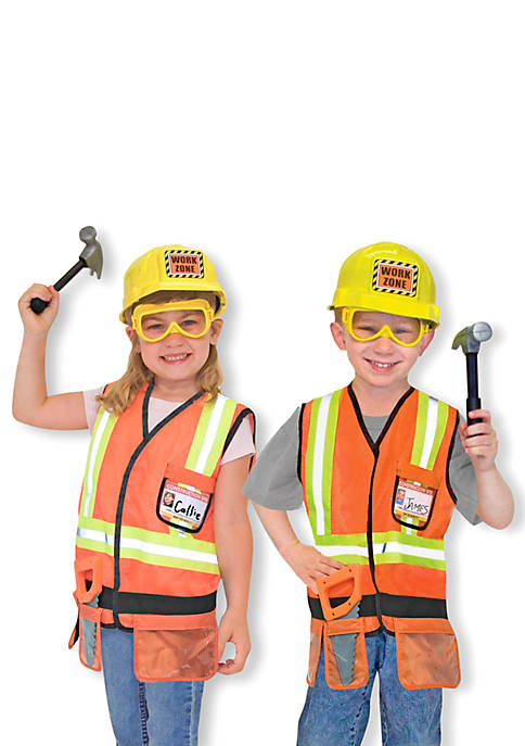 Melissa & Doug® Construction Worker Role Play Costume