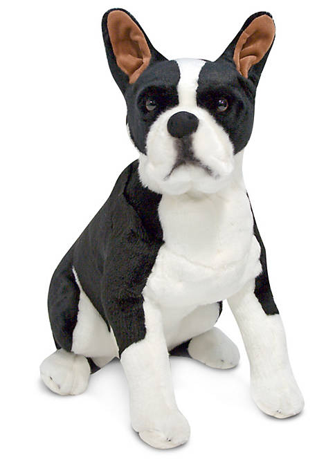 Melissa & Doug® Boston Terrier Plush Toy