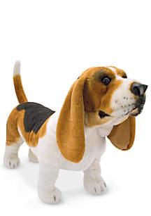 Basset Hound Plush Toy - Online Only