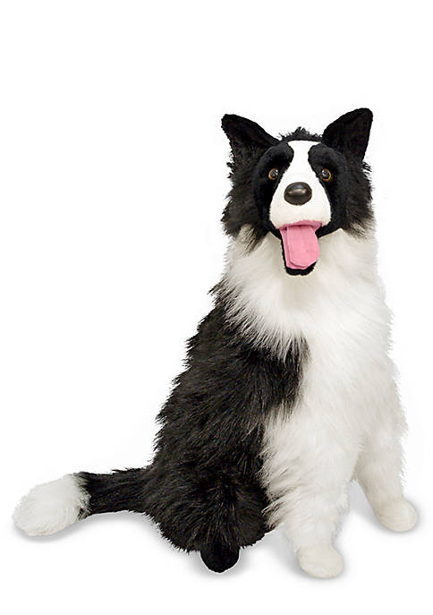 Melissa & Doug® Border Collie Plush Toy