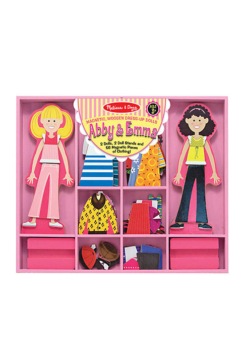 Abby & Emma Deluxe Magnetic Dress-Up - Online Only