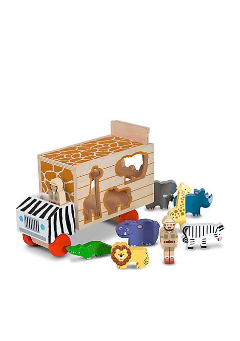 Melissa & Doug® Animal Rescue Shape-Sorting Truck