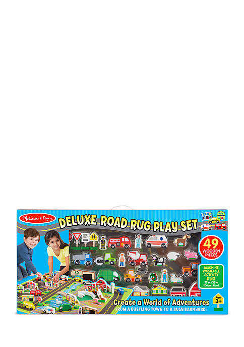 Melissa & Doug® Deluxe Road Rug Play Set