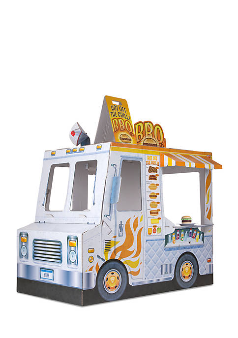 Melissa & Doug® Food Truck Indoor Playhouse