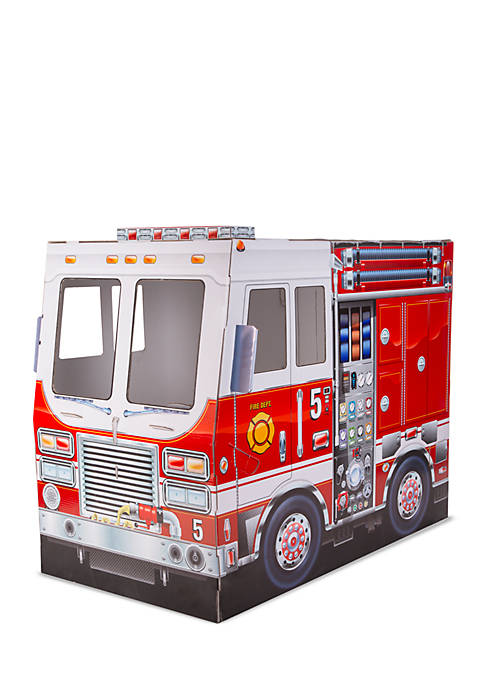 Melissa & Doug® Fire Truck Indoor Playhouse