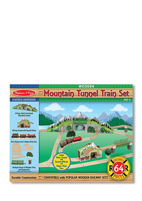 Melissa & Doug® Mountain Tunnel Train Set